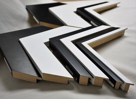 atelier coulouvrat - baguette Plat Blanc et Noir