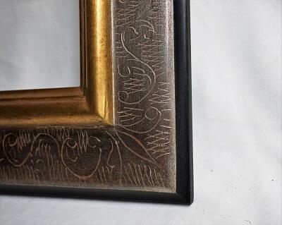 atelier coulouvrat - baguette Kalimnos gravé noir / or