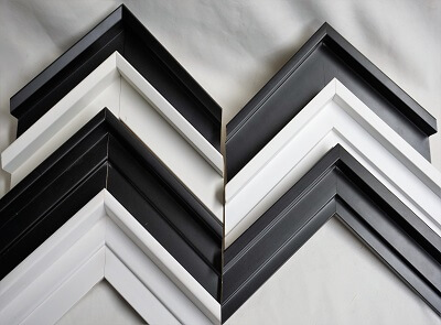 atelier coulouvrat - baguette US Noir et Blanc