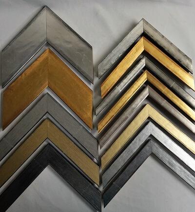 atelier coulouvrat - baguette Plats dorés et argentés